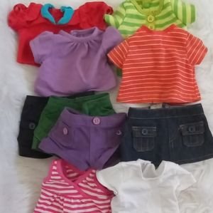 Lakeshore Doll Clothes 10 Piece Bundle